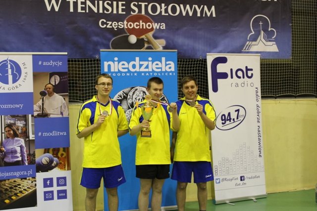 Wicemistrzostwo Polski w tenisie stołowym.