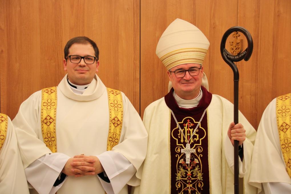 Święcenia diakonatu Marka Nowaka
